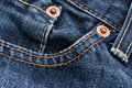 Free Pocket Detail Of Blue Denim Jeans Stock Images - 15562644