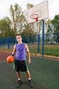 Free Street Basketball Royalty Free Stock Photos - 15565378