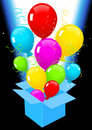 Free Flying Out Balloons Stock Photo - 15566530