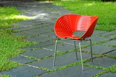 Free Red Chair Royalty Free Stock Images - 15560779