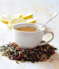 Free Herbal Tea Royalty Free Stock Image - 15561396