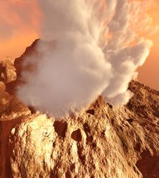 Free Volcanic Eruption Stock Photos - 15562053
