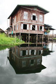 Free Burmese Dwelling Stock Image - 15562371