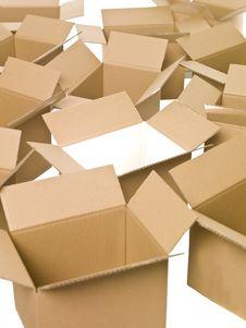 Free Cardboard Boxes Stock Photo - 15562660