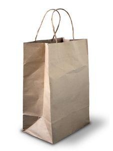 Free Brown Crumpled Peper Bag Royalty Free Stock Image - 15562916