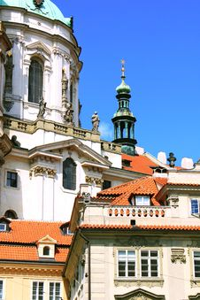 Free Beautiful Czech Colorful Houses Royalty Free Stock Image - 15563036
