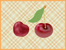 Free Cherry Fruits Royalty Free Stock Photo - 15563275