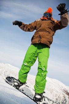 Free Snowboarder Stock Photos - 15564143