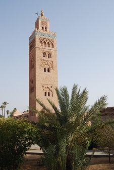 Free Koutoubia Mosque Stock Photography - 15564342