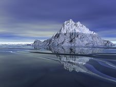 Free Ice Mountain Stock Photography - 15564362
