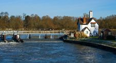 Free View Of The River Thames Stock Images - 15564474