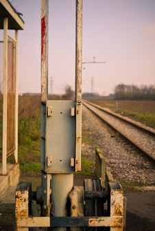 Free Old Rail Line Stock Image - 15564491