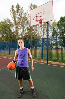 Free Street Basketball Royalty Free Stock Photos - 15565378