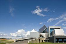 Futuristic Building Stock Photo