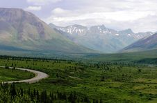 Free View Of Alaska Landscape Royalty Free Stock Image - 15566996
