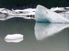 Free View Of Alaska Ice Sheets And Glaciers Stock Photography - 15567082