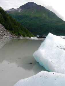 Free View Of Alaska Ice Sheets And Glaciers Royalty Free Stock Photography - 15567087
