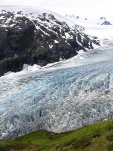 Free View Of Alaska Ice Sheets And Glaciers Royalty Free Stock Photos - 15567188