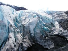 Free View Of Alaska Ice Sheets And Glaciers Royalty Free Stock Photos - 15567258