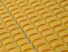 Free Empty Folded Spectator Seats Royalty Free Stock Photo - 15567325