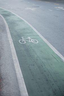 Free Bike Lane Stock Photography - 15567492