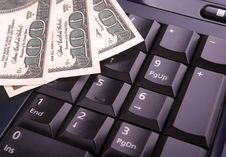 Free Keyboard And Money Stock Photo - 15567920