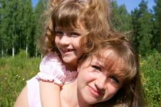 Free Happy Mother And The Daughter Stock Photos - 15568293