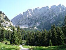 Free Hike In The Wilder Kaiser Stock Photo - 15568530