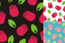 Free Pattern Of Roses Stock Photography - 15569312