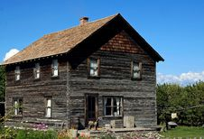 Free Western Pioneer Home 2 Stock Photos - 15569403