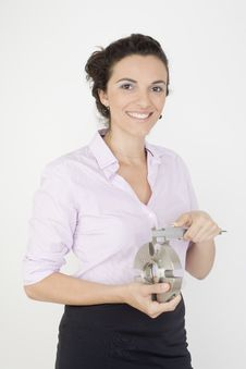 Free Technical Woman Stock Photos - 15569413