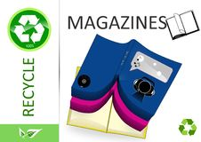 Free Please Recycle Magazines Stock Images - 15569684