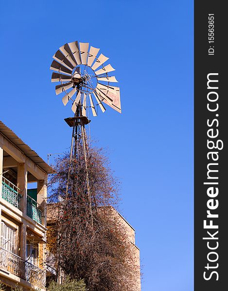 Neglected windmill