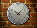 Free Blue Clock On The Wall Royalty Free Stock Photo - 15573785