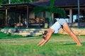 Free Woman Doing Yoga Exercise Royalty Free Stock Photo - 15573815
