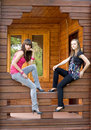 Free Two Female Friends Royalty Free Stock Photo - 15578205
