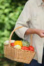 Free Closeup Of Basket Of Vegetables Stock Photo - 15579210