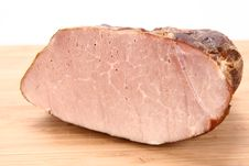 Free Piece Of Ham Stock Image - 15570811