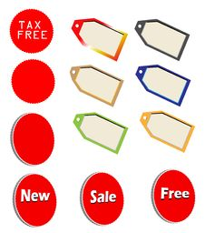 Free Marketing Tags Royalty Free Stock Images - 15570859