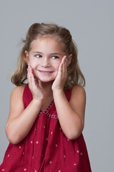 Free Pretty 5 Year Old Girl Stock Photos - 15571443