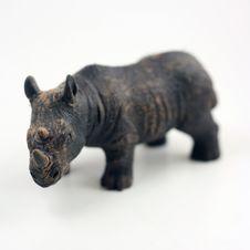 Free Charging Rhino Stock Photos - 15571863
