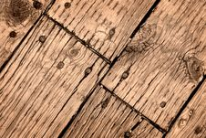 Free Old Wooden Deck Royalty Free Stock Photos - 15572178