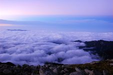 Free Sea Of Clouds Stock Photography - 15572782