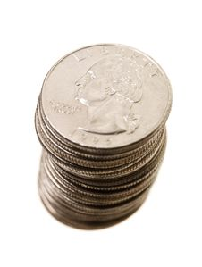 Free Stack Of Coins Royalty Free Stock Photo - 15573275