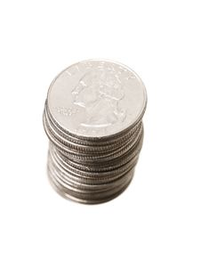 Free Stack Of Coins Royalty Free Stock Photography - 15573277