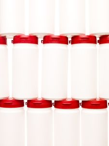 Free Plastic Cans Royalty Free Stock Photo - 15573315