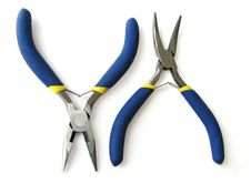 Free Two Pliers Royalty Free Stock Images - 15573319