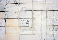 White Wall Texture Royalty Free Stock Photos