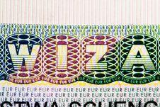 Free Visa (viza) Royalty Free Stock Photography - 15574797