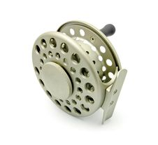 Professional Fly Fishing Reel Royalty Free Stock Images